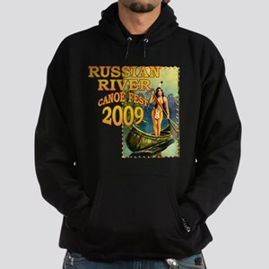 Russian River Canoe Fest 2009 Hoodie (dark)
