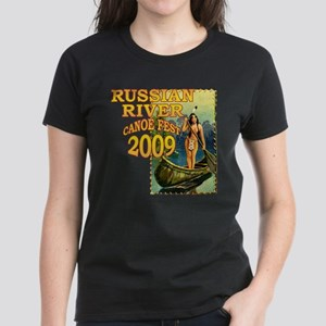 Russian River Canoe Fest 2009 Women's Dark T-Shirt