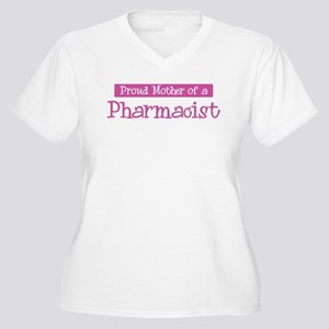 Proud Mother of Pharmacist Women's Plus Size V-Nec