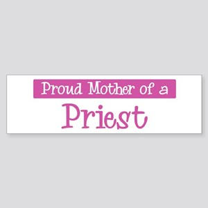 Proud Mother of Priest Bumper Sticker