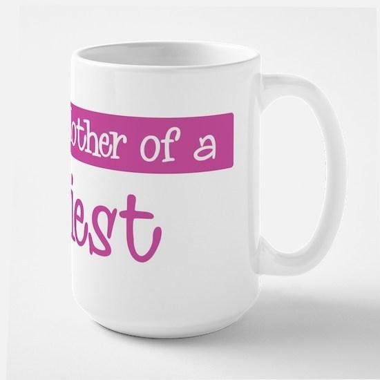 Proud Mother of Priest Large Mug