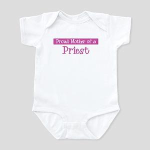 Proud Mother of Priest Infant Bodysuit