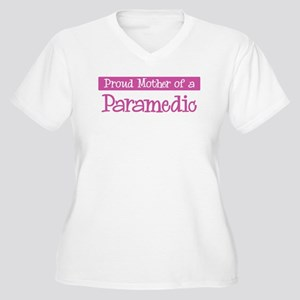 Proud Mother of Paramedic Women's Plus Size V-Neck