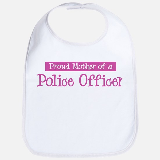 Proud Mother of Police Office Bib