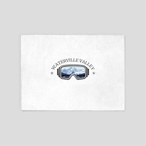 Waterville Valley Resort - Waterv 5'x7'Area Rug