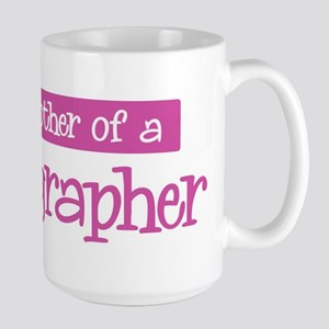 Proud Mother of Radiographer Large Mug