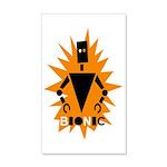 Bionic Robot 35x21 Wall Decal