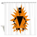 Bionic Robot Shower Curtain
