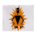 Bionic Robot Throw Blanket