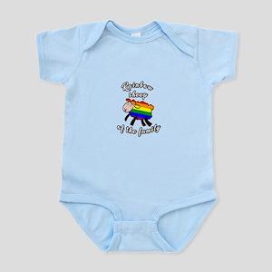 Rainbow sheep Body Suit