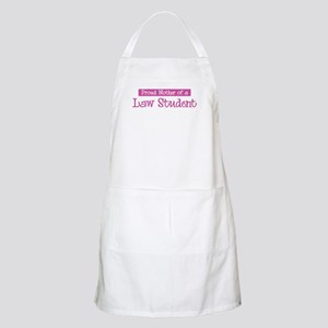 Proud Mother of Law Student BBQ Apron