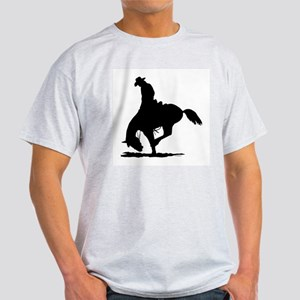 Saddle Bronc Riding Light T-Shirt