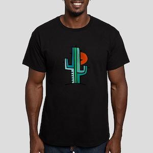 CACTUS_0931 Men's Fitted T-Shirt (dark)