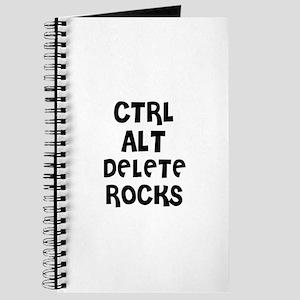 CTRL ALT DELETE ROCKS Journal