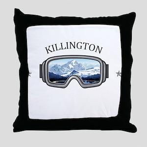 Killington Ski Resort - Killington Throw Pillow