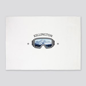Killington Ski Resort - Killingto 5'x7'Area Rug
