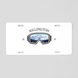 Killington Ski Resort - K Aluminum License Plate