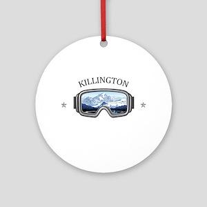 Killington Ski Resort - Killingto Round Ornament