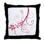 Swirls & Twirls Throw Pillow