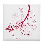 Swirls & Twirls Tile Coaster