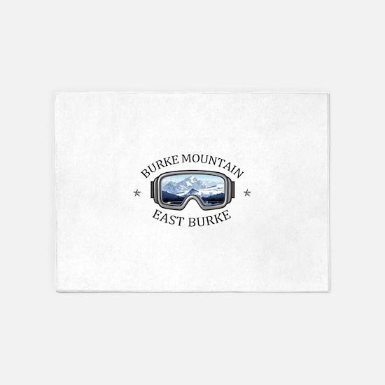 Burke Mountain - East Burke - Ver 5'x7'Area Rug