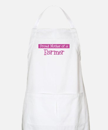 Proud Mother of Farmer BBQ Apron