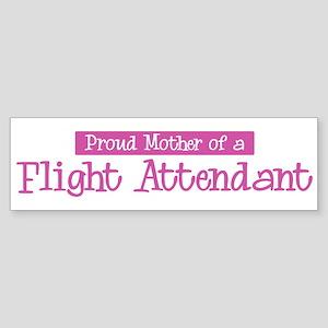 Proud Mother of Flight Attend Bumper Sticker