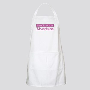 Proud Mother of Electrician BBQ Apron