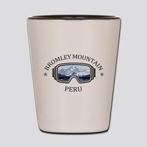 Bromley Mountain - Peru - Vermont Shot Glass