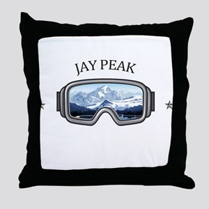 Jay Peak Resort - Jay - Vermont Throw Pillow
