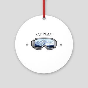 Jay Peak Resort - Jay - Vermont Round Ornament