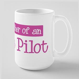 Proud Mother of Airline Pilot Large Mug