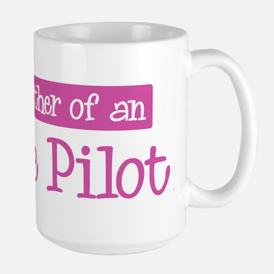 Proud Mother of Airline Pilot Large Mug