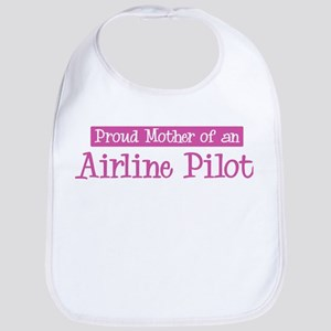 Proud Mother of Airline Pilot Bib