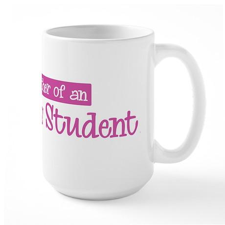 Proud Mother of Agnostics Stu Large Mug
