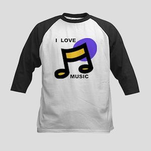 MUSIC Kids Baseball Jersey