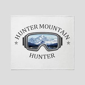 Hunter Mountain - Hunter - New Yor Throw Blanket