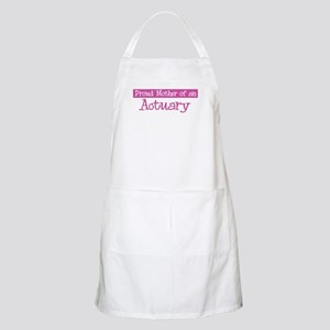Proud Mother of Actuary BBQ Apron