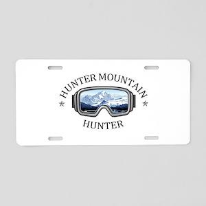 Hunter Mountain - Hunter Aluminum License Plate