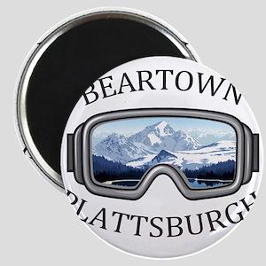 Beartown Ski Area - Plattsburgh - New Yo Magnets