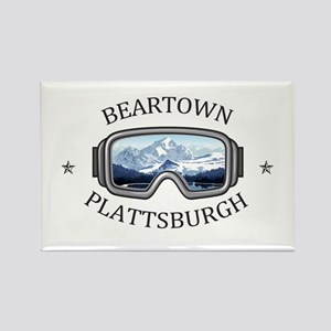 Beartown Ski Area - Plattsburgh - New Yo Magnets