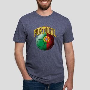Flag of Portugal Soccer Ball T-Shirt
