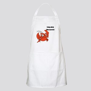 Crabby Day BBQ Apron