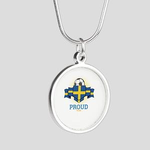 Football Swedes Sweden Soccer Team Sport Necklaces