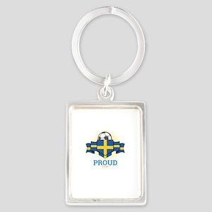 Football Swedes Sweden Soccer Team Sport Keychains