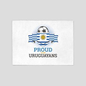 Football Uruguay Uruguayans Soccer 5'x7'Area Rug