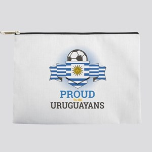 Football Uruguay Uruguayans Soccer Team Makeup Bag