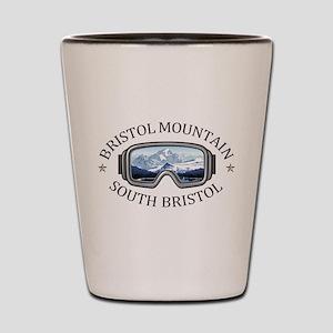 Bristol Mountain Ski Resort - South B Shot Glass