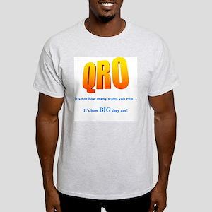 QRO STUFF Ash Grey T-Shirt