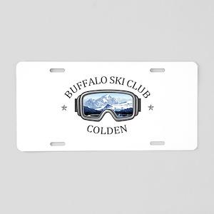Buffalo Ski Club - Colden Aluminum License Plate